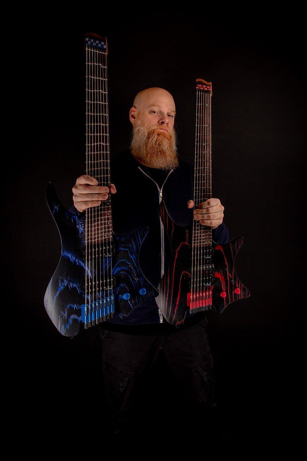 Strandberg Boden singularity headless guitar