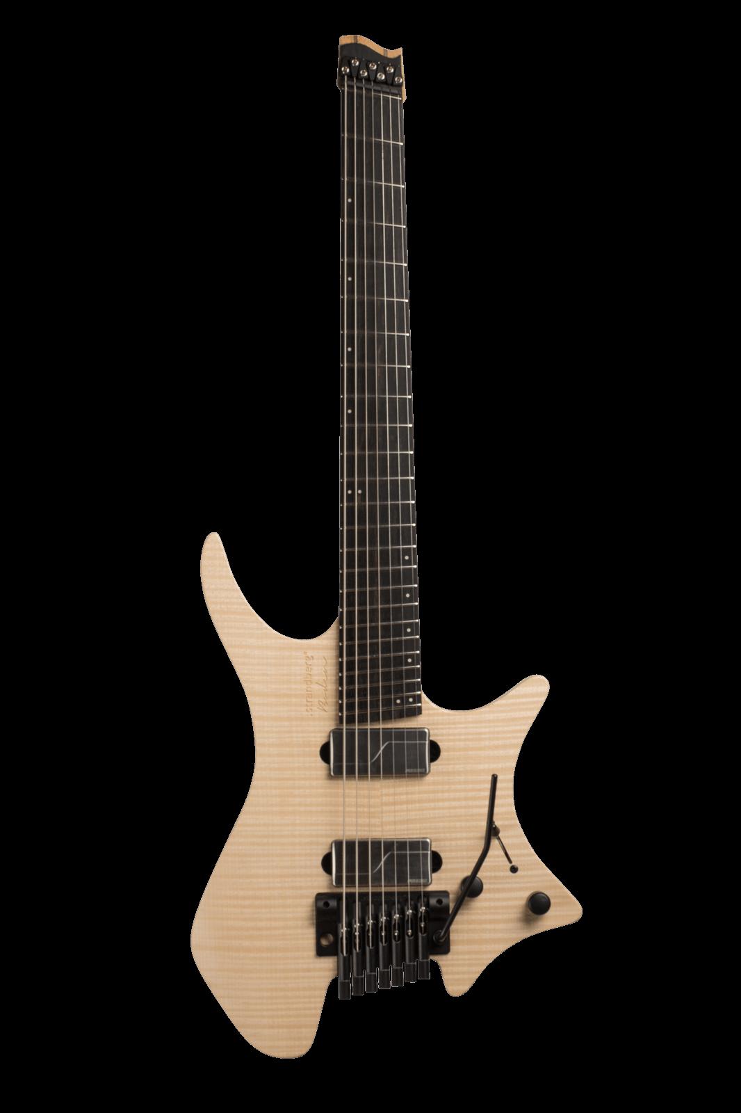 Headless Boden Prog 7-String Natural Guitar