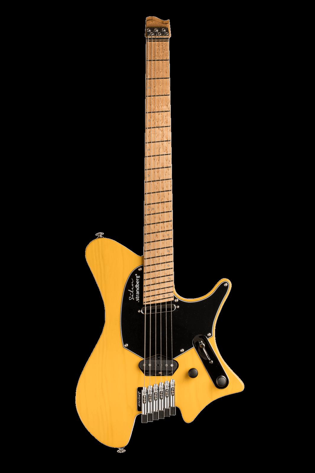 Sälen Classic 6-string guitar Trans Butterscotch