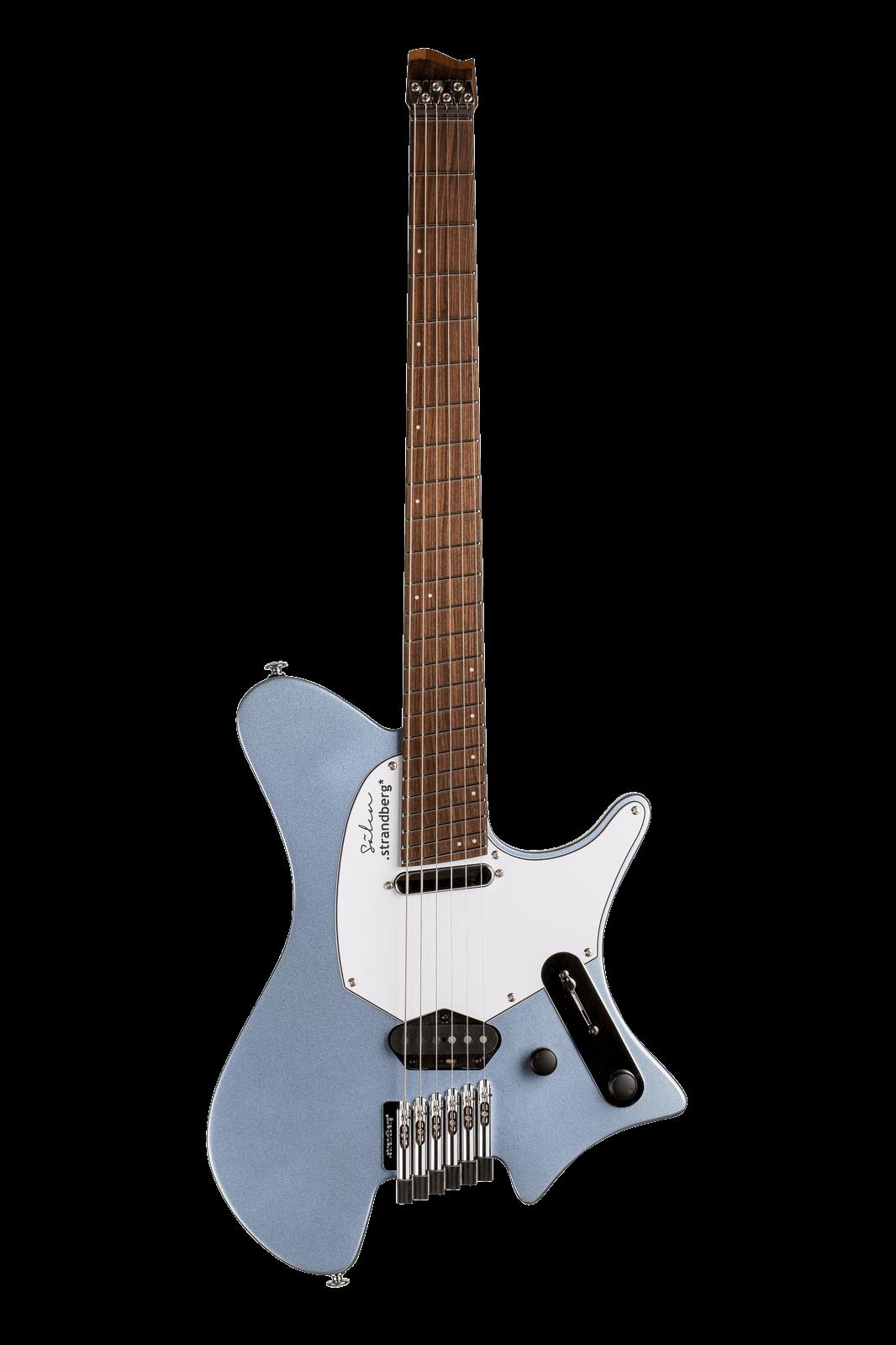 Sälen Classic 6-string guitar Ice Blue Metallic