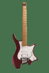 Headless guitar Boden Classic 6-String Guitar Trem Burgundy Mist