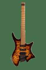 Boden Standard 6-string guitar Tremolo Maple Quilt Bengal Burst