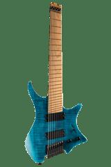 Boden Standard 8 string guitar Maple Flame Blue