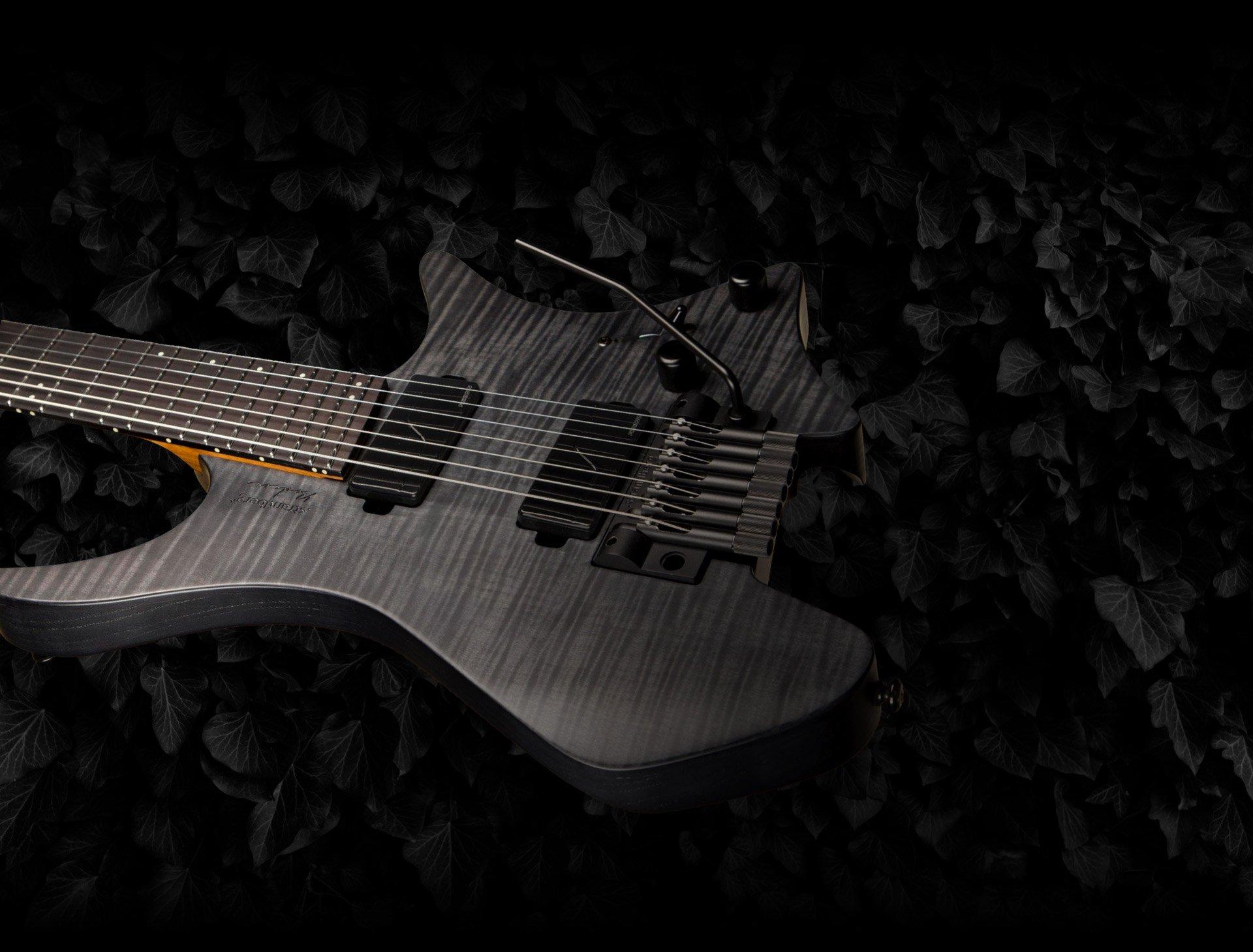 Headless strandberg guitar tremolo 7 string