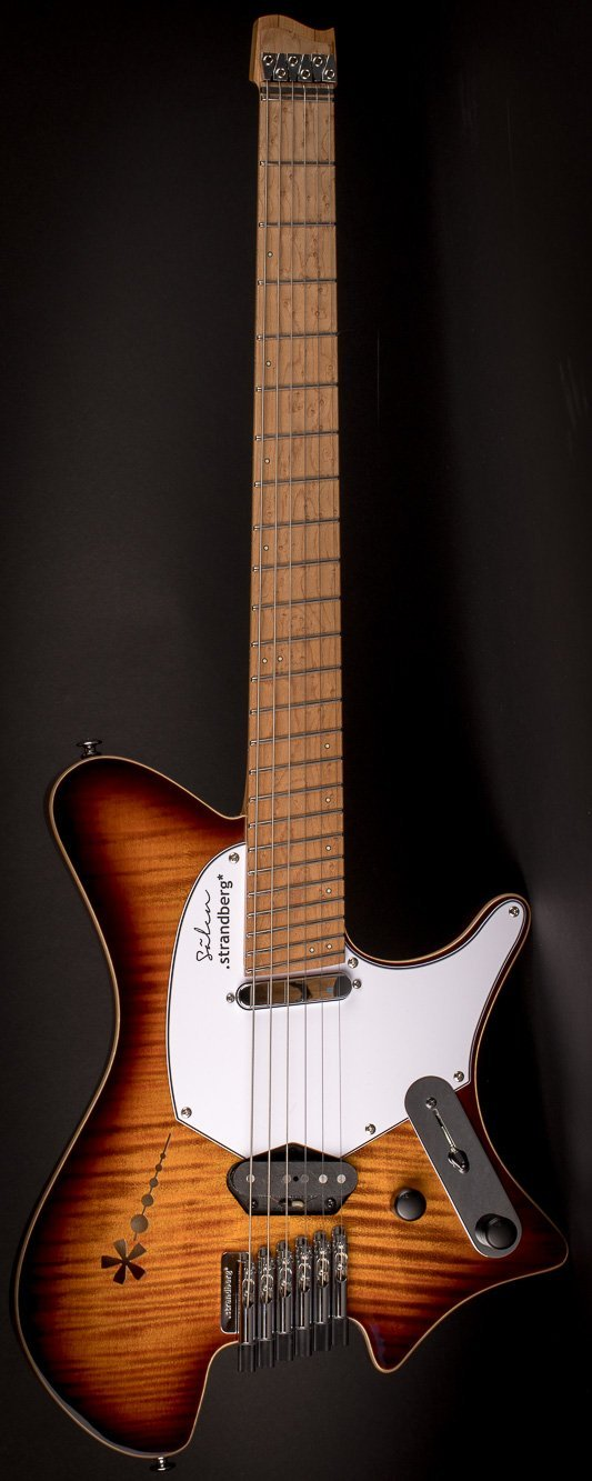 Sälen Deluxe 6 string guitar Vintage Burst