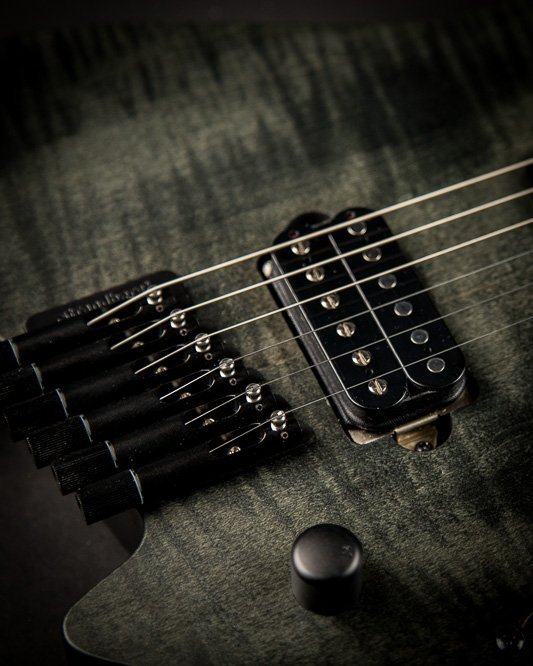 Headless guitar Boden Original 6 string Black