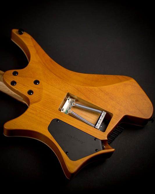 Headless Guitar Boden Fusion 6-string Honey back view