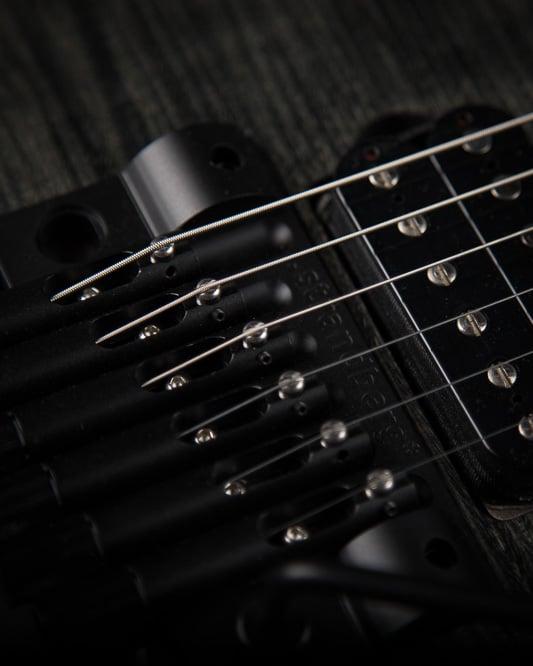 Headless Guitar Boden Fusion Trem 6-string closeup