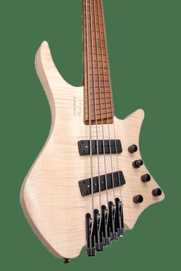 Headless Boden Bass Prog 5-string bass Natural