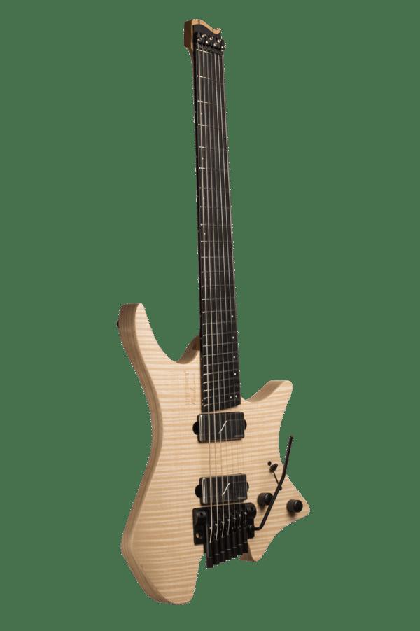 Headless Boden Prog trem 7-String Natural Guitar