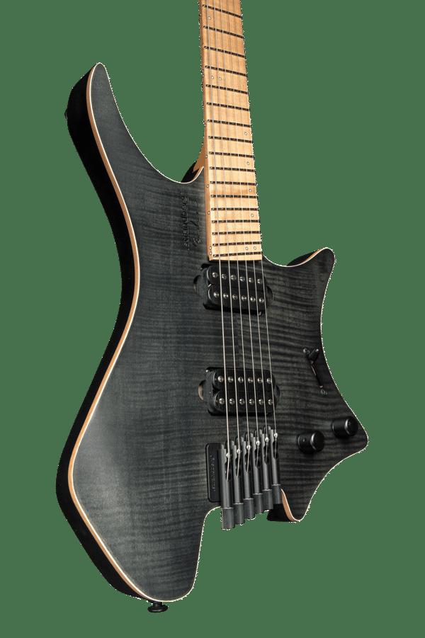 Headless guitar boden fusion 6 string black