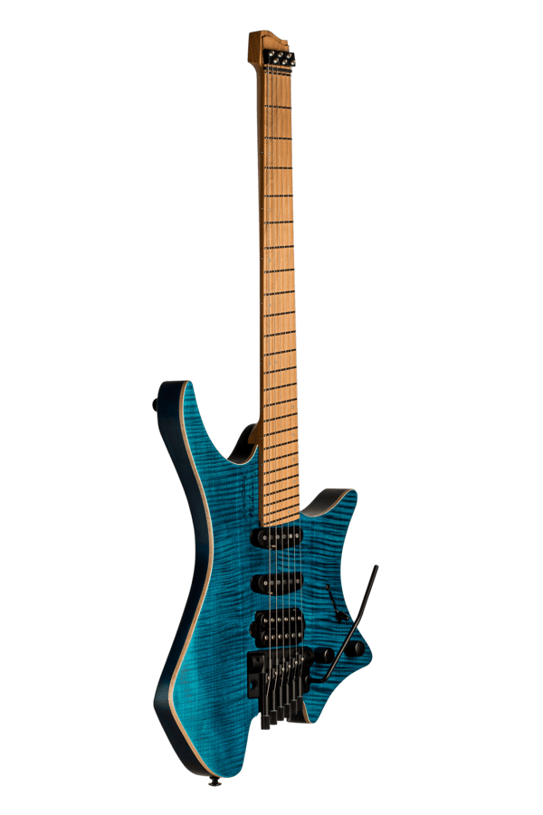 Boden Standard 6 maple flame blue with tremolo