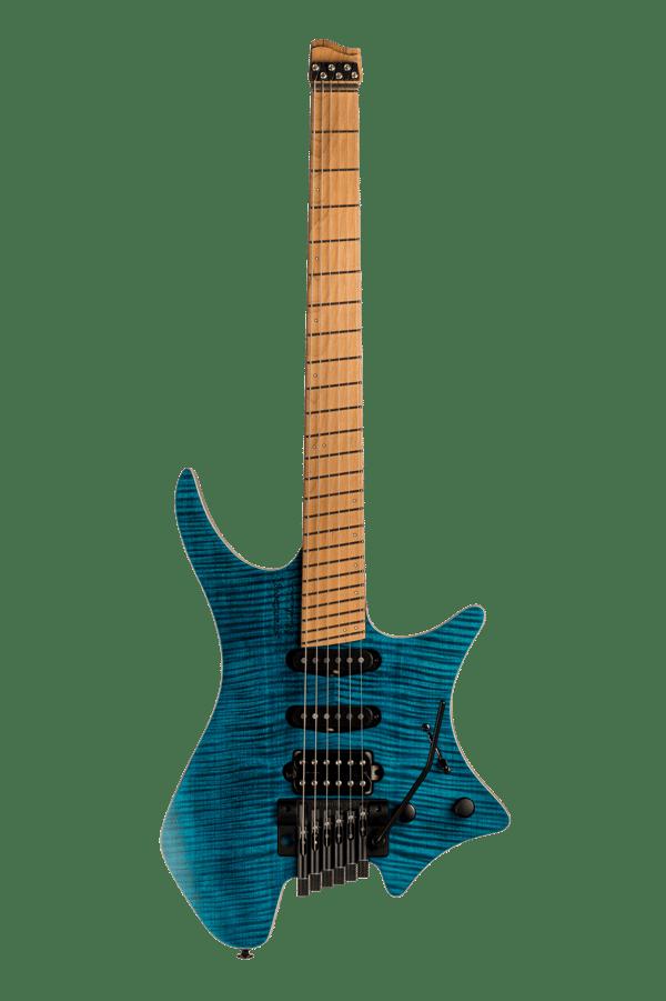 Boden Standard 6-string guitar Tremolo Maple Flame Blue