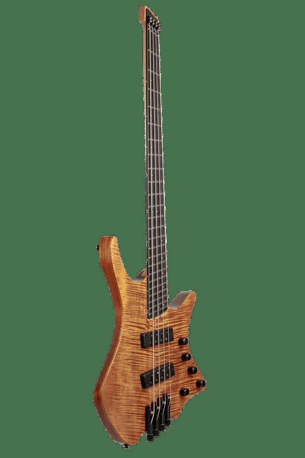 Headless Boden Bass Prog 4-string bass Brown