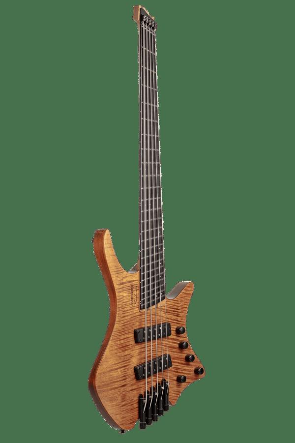 Headless Boden 4-string bass Prog Brown