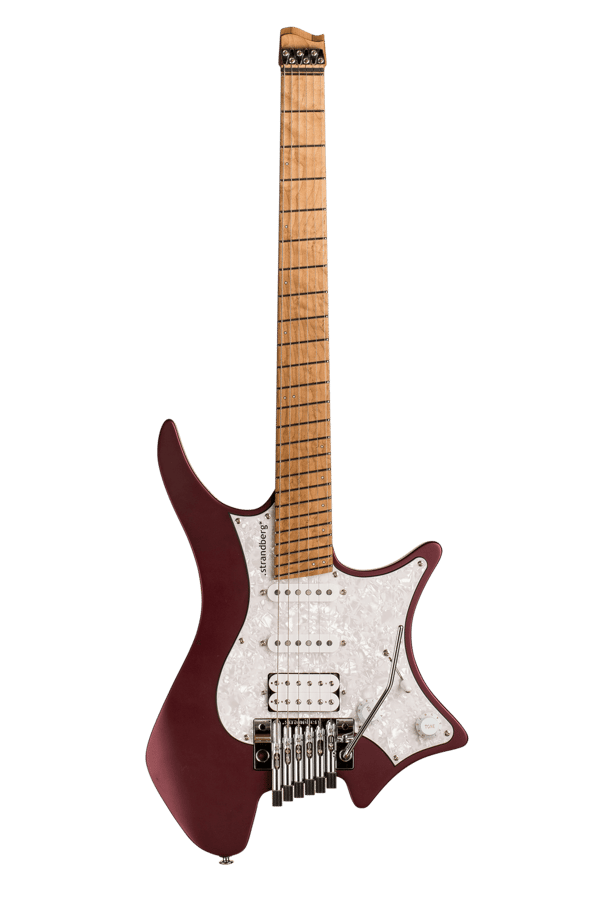 Headless guitar Boden Classic 6-String Guitar Trem Burgundy Mist