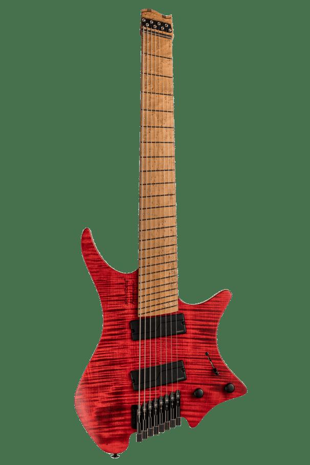 Headless Guitar Boden Original 8 string Red