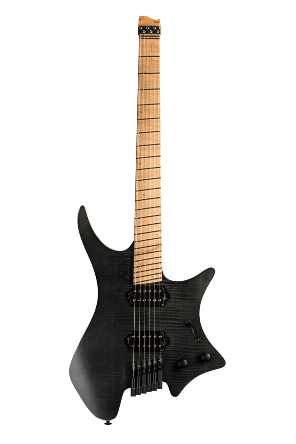 Headless guitar boden fusion 6 string black