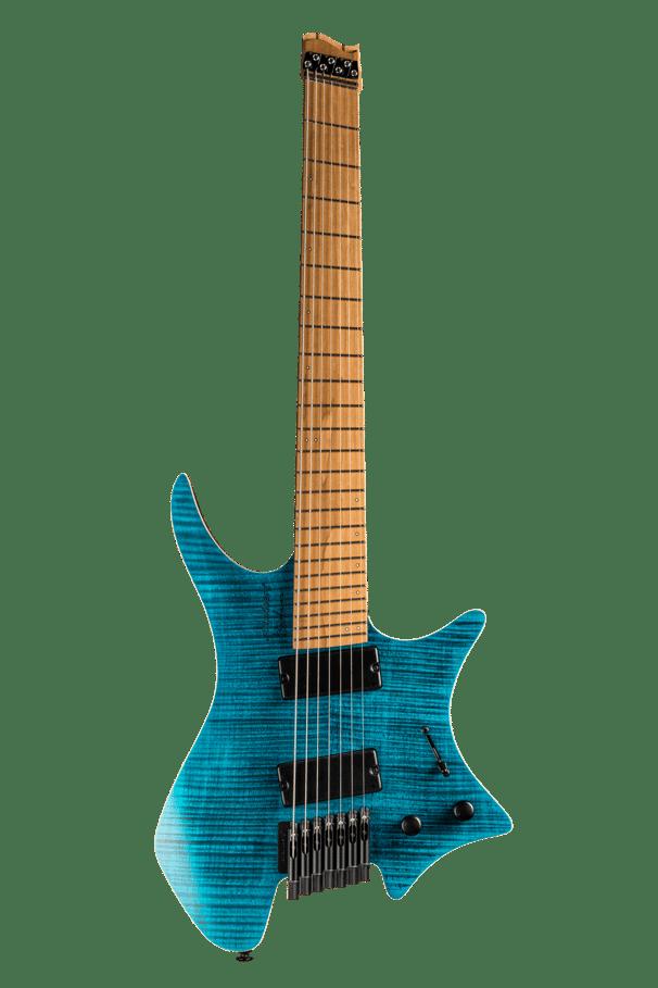 Boden Standard 7-string guitar Maple Flame Blue