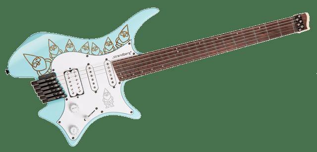 Headless strandberg gnomes guitar 6string
