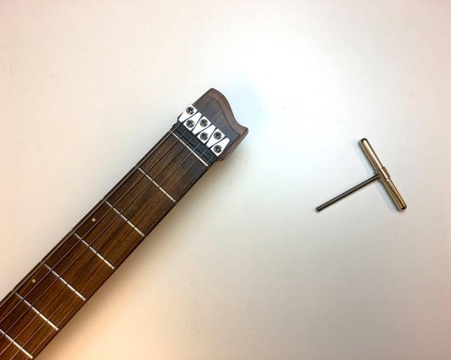 Truss rod strandberg tools Headless guitars