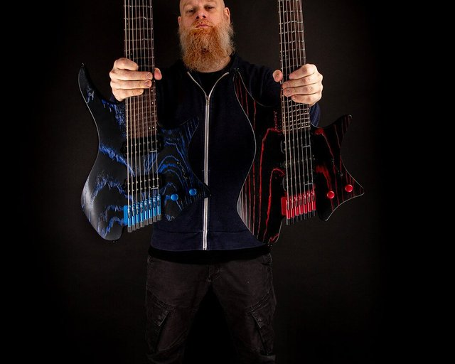 strandberg singularity headless guitar
