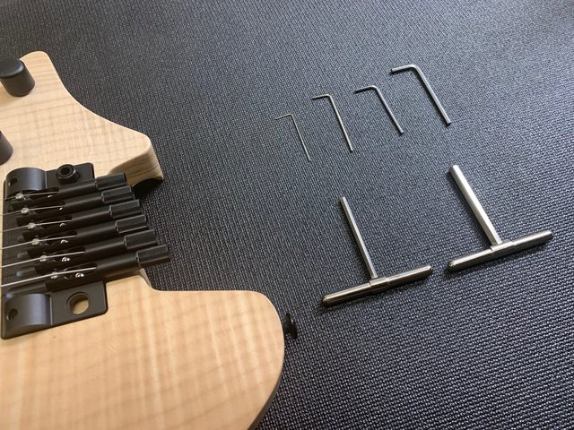 Headless Guitar Tools
