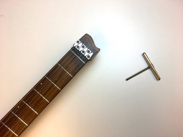 Truss rod strandberg tools Headless guitars