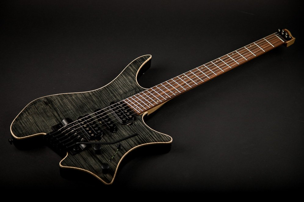 Headless guitar Boden Fusion Trem Black 6 string