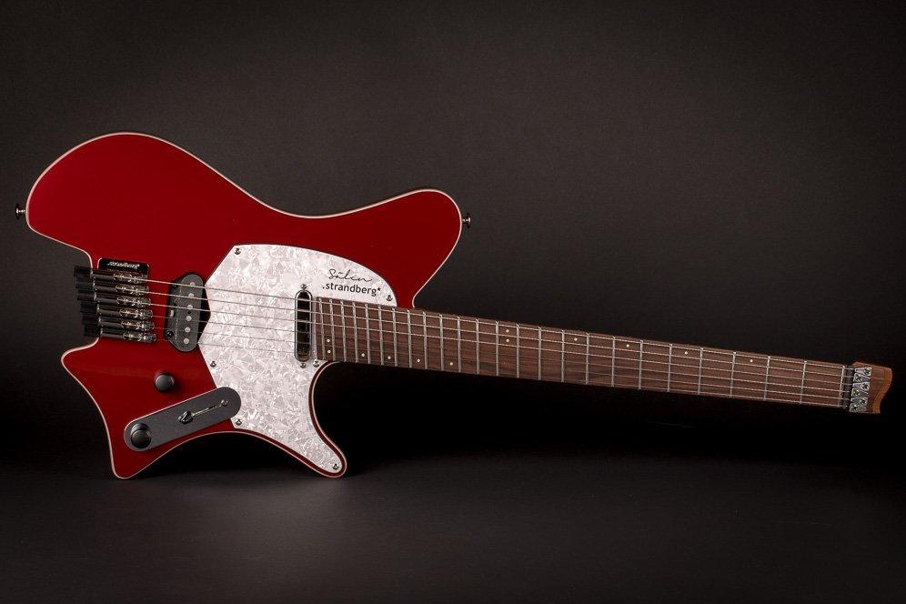 Sälen deluxe candy apple red 6 string