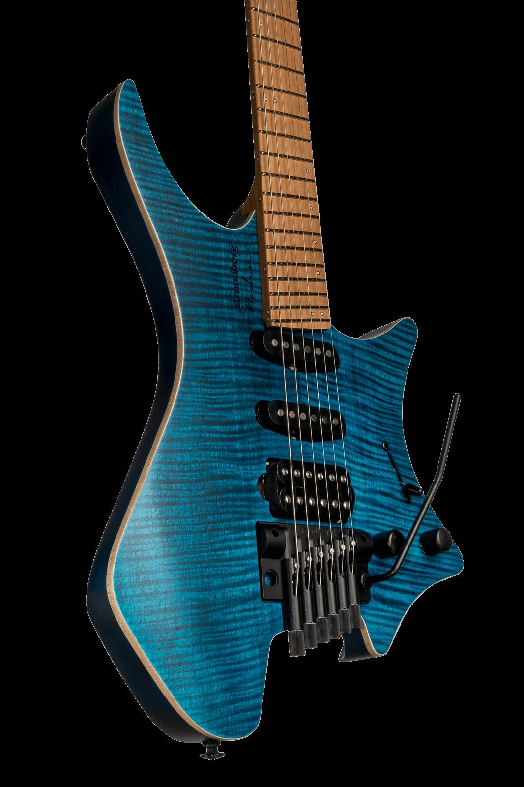 boden standard 6 tremolo maple flame blue strandberg guitars rest of world. Black Bedroom Furniture Sets. Home Design Ideas