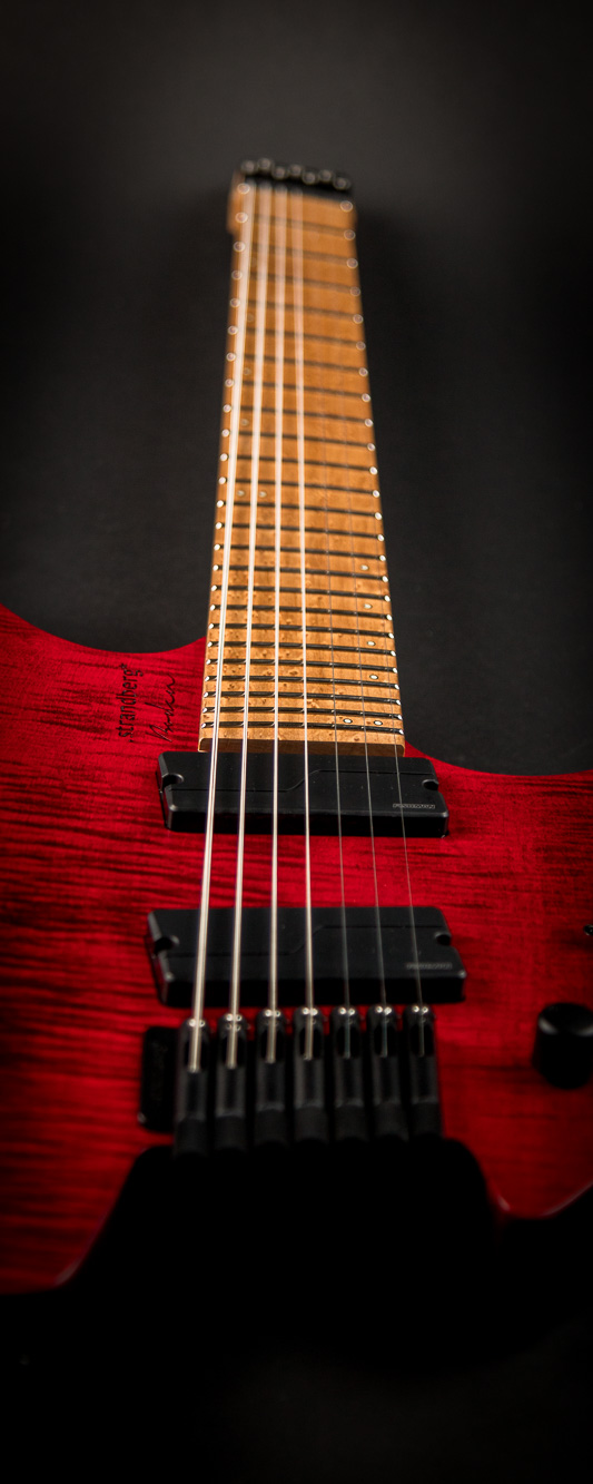 Headless guitar Boden Original 7 string Red