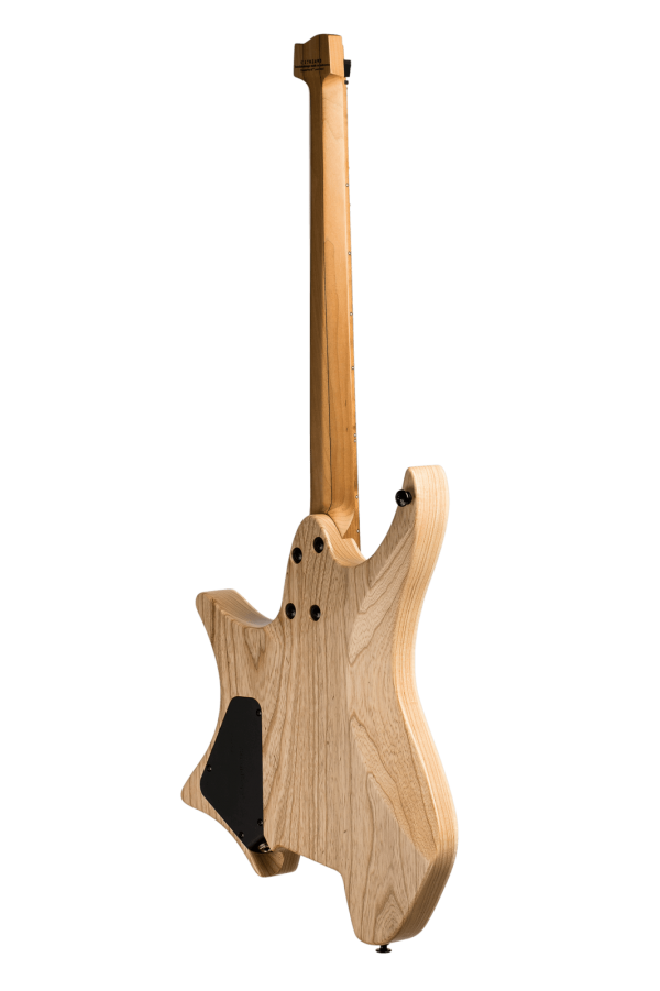 Headless guitar Boden Original 6 string Natural back view
