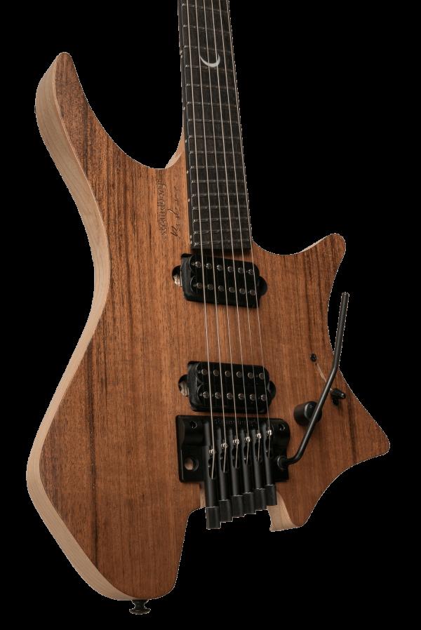 headless guitar Plini signature model Trem 6 string