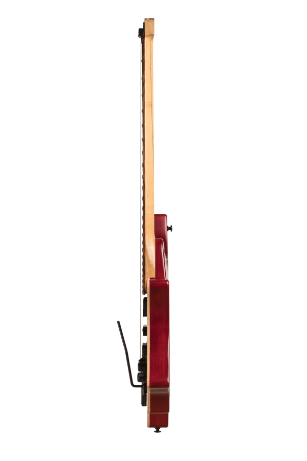 Headless guitar Boden Alex Machaek edition 6 string trem red side view