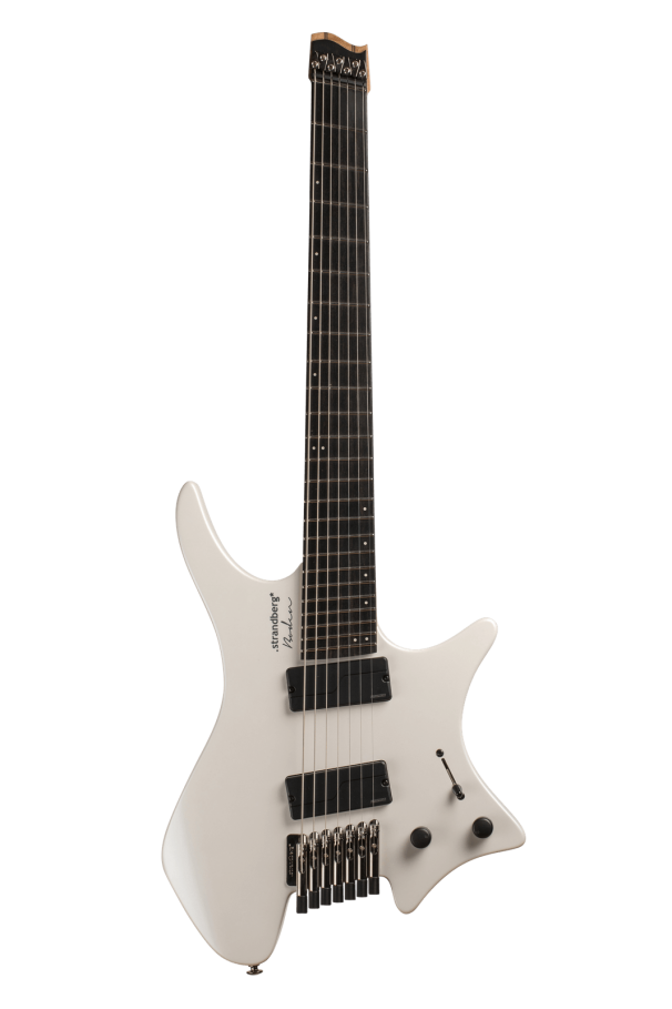 Boden Metal 7-String White Pearl Guitar