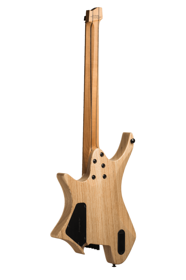 Headless Guitar Boden Original 7-String Natural back view