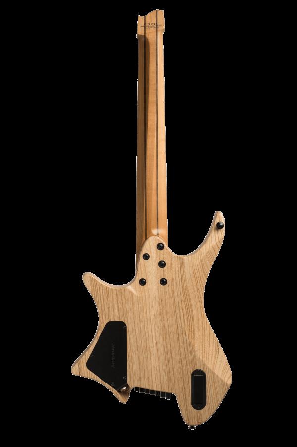 Headless Guitars Boden Original 7 string natural back view