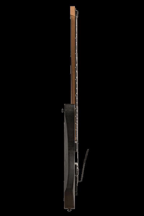 Headless Boden Prog Trem 7-String Black Guitar side view