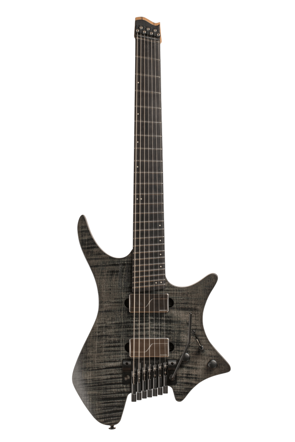 Headless Boden Prog 7-String Black Guitar