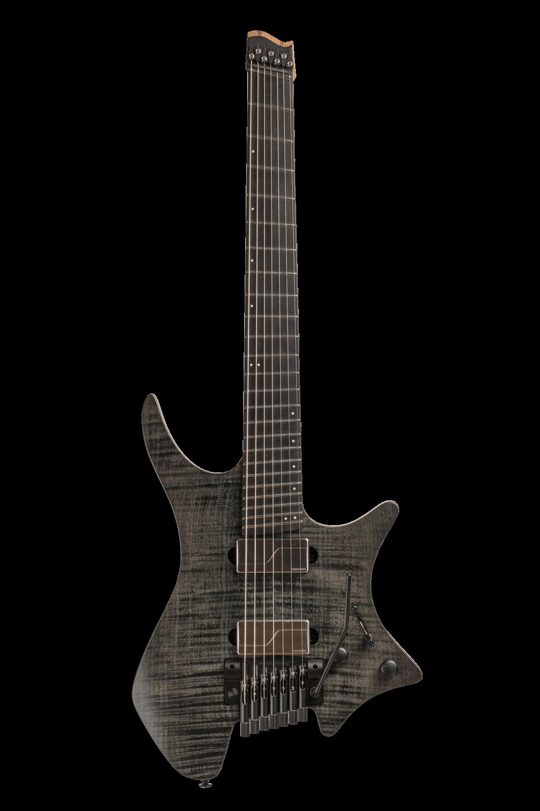 Headless Boden Prog 7-String Black Guitar
