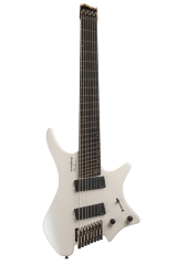 Boden Metal 8-String White Pearl Guitar