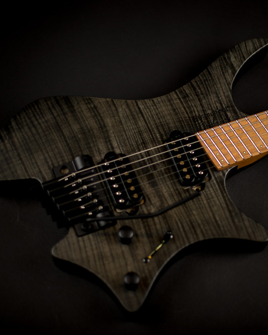 Headless guitar Boden Original trem 7 string black