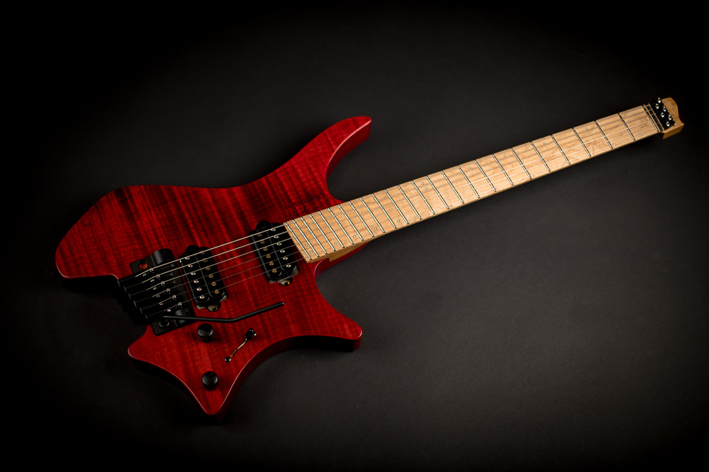 Headless Guitar Boden Original Trem 6 string red