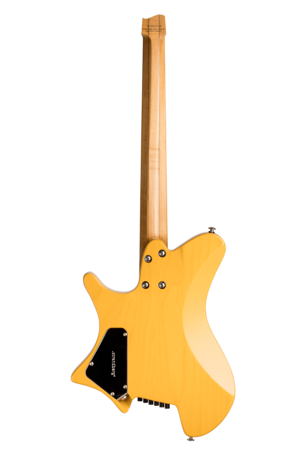 Sälen Classic 6-string guitar Trans Butterscotch back view
