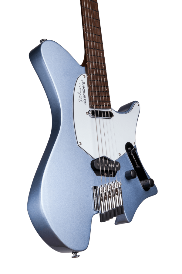 Sälen Classic 6-string guitar blue metallic