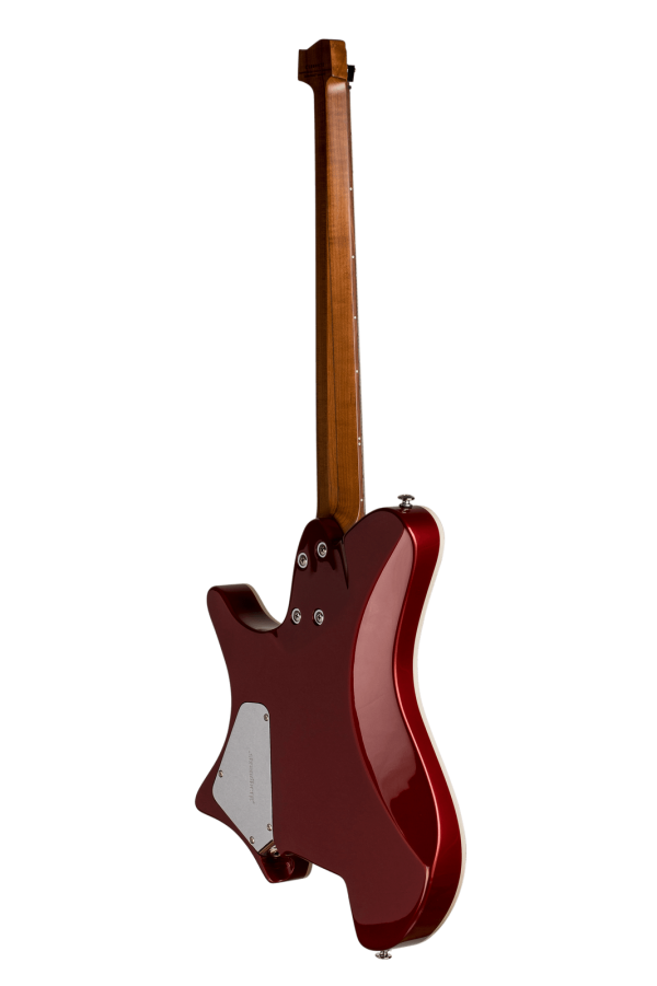 Sälen deluxe candy apple red 6 string back view