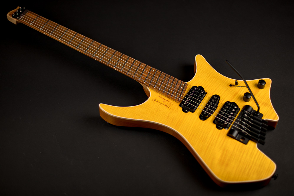 Headless Guitar Boden Fusion 6-string Honey