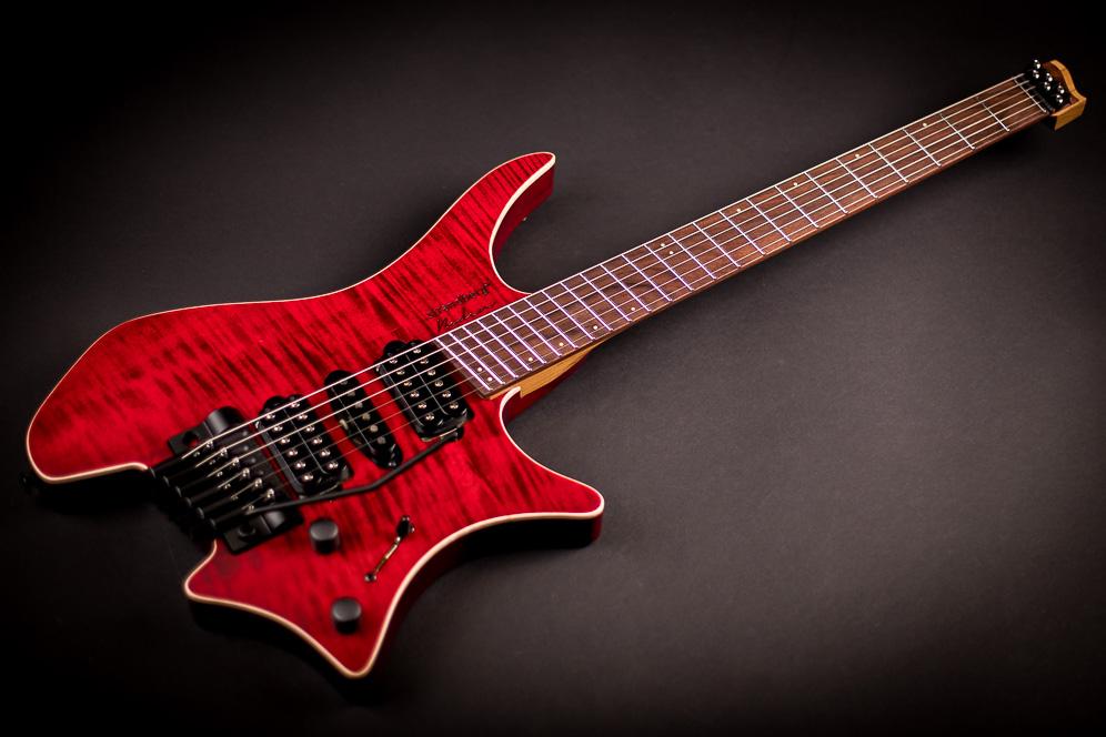 Headless guitar Boden Alex Machaek edition 6 string trem red