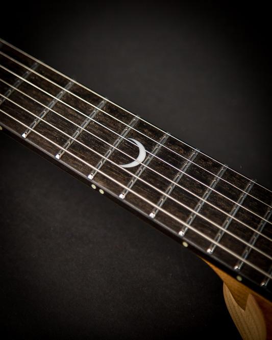 Headless guitar strandberg Plini 6 string closeup